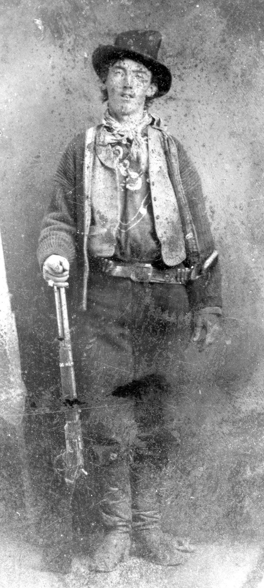 William Bonney, aka Billy the Kid (Associated Press)