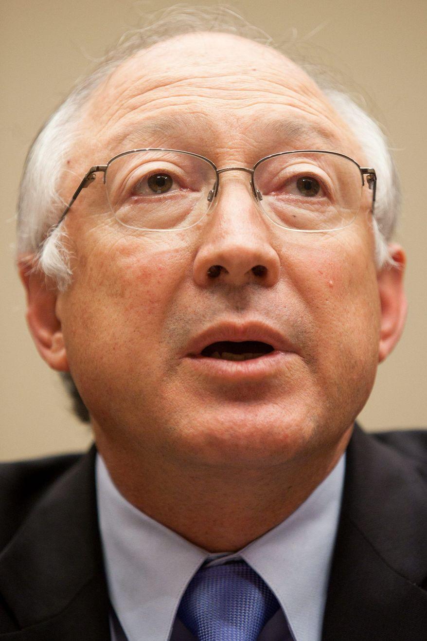 Secretary of the Interior Ken Salazar (Bloomberg News)