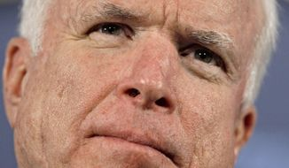 **FILE** Sen. John McCain, Arizona Republican (Associated Press)