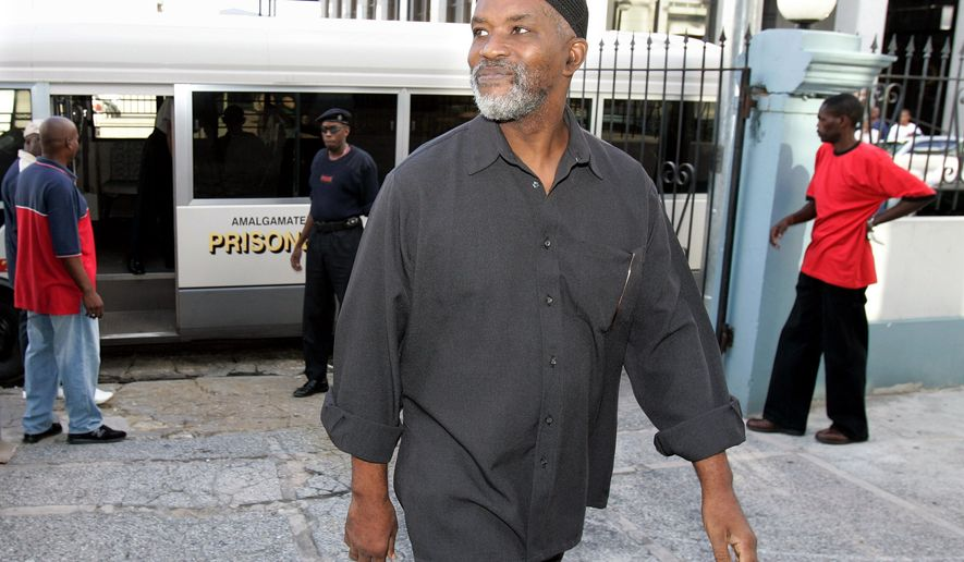 In this Aug. 6, 2007, photo, Guyanese Abdul Kadir, former member of the South American nation's Parliament, arrives at the Magistrates' Court for an extradition hearing in downtown Port-of-Spain, Trinidad. On Monday, Aug. 2, 2010, a New York jury convicted Kabir and a U.S. citizen of plotting to blow up John F. Kennedy International Airport. (AP Photo/Andres Leighton)