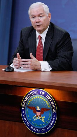 **FILE** Defense Secretary Robert M. Gates (Associated Press)