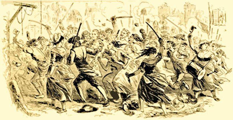 Illustration: riot