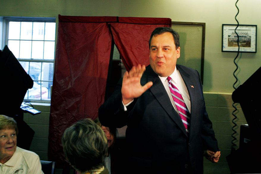 """ASSOCIATED PRESS  New Jersey Gov. Chris Christie is one of the """"tea party"""" favorites for the 2012 presidential race."""
