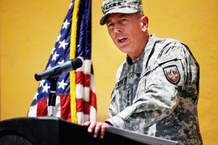 Gen. David H. Petraeus insisted the U.S. continue its efforts to keep the loss of Afghan civilian life to a minimum. (Associated Press)
