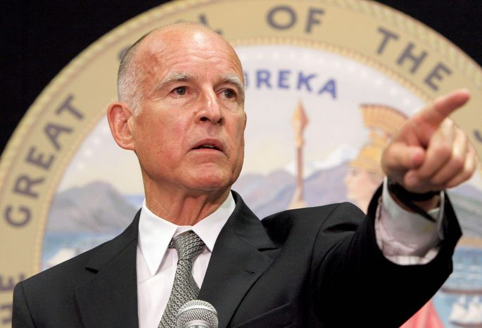 ** FILE ** Jerry Brown