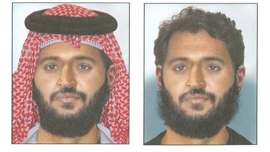 Adnan G. Shukrijumah. is seen in these artists renderings by the FBI and made available to the Associated Press Aug. 2, 2010. (AP Photo/FBI,HO)