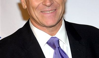 "FILE - In this Nov. 6, 2008 file photo, actor Corbin Bernsen poses on the media line at the 8th Annual Discovery Award Dinner hosted by Zimmer Children's Museum in Beverly Hills, Calif. Bernsen has told police he was thrown to the ground during a bar brawl in Ohio, where he's making a movie. According to a police report, the star of TV's ""Psych"" and ""L.A. Law"" says he scraped a knee in the fight July 27 in the Akron area, where Bernsen is filming ""25 Hill"" about the All-American Soap Box Derby. (AP Photo/Dan Steinberg, File)"