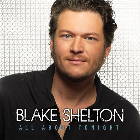 "In this CD cover image released by Reprise Records, the latest by Blake Shelton, ""All About Tonight,"" is shown. (AP Photo/Reprise)"