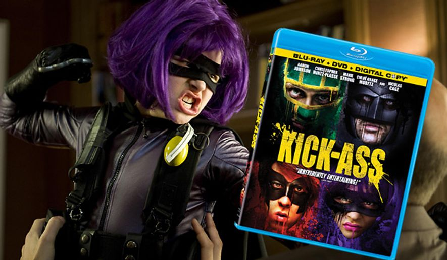 Lionsgate Home Entertainment's Kick-Ass is on Blu-ray.