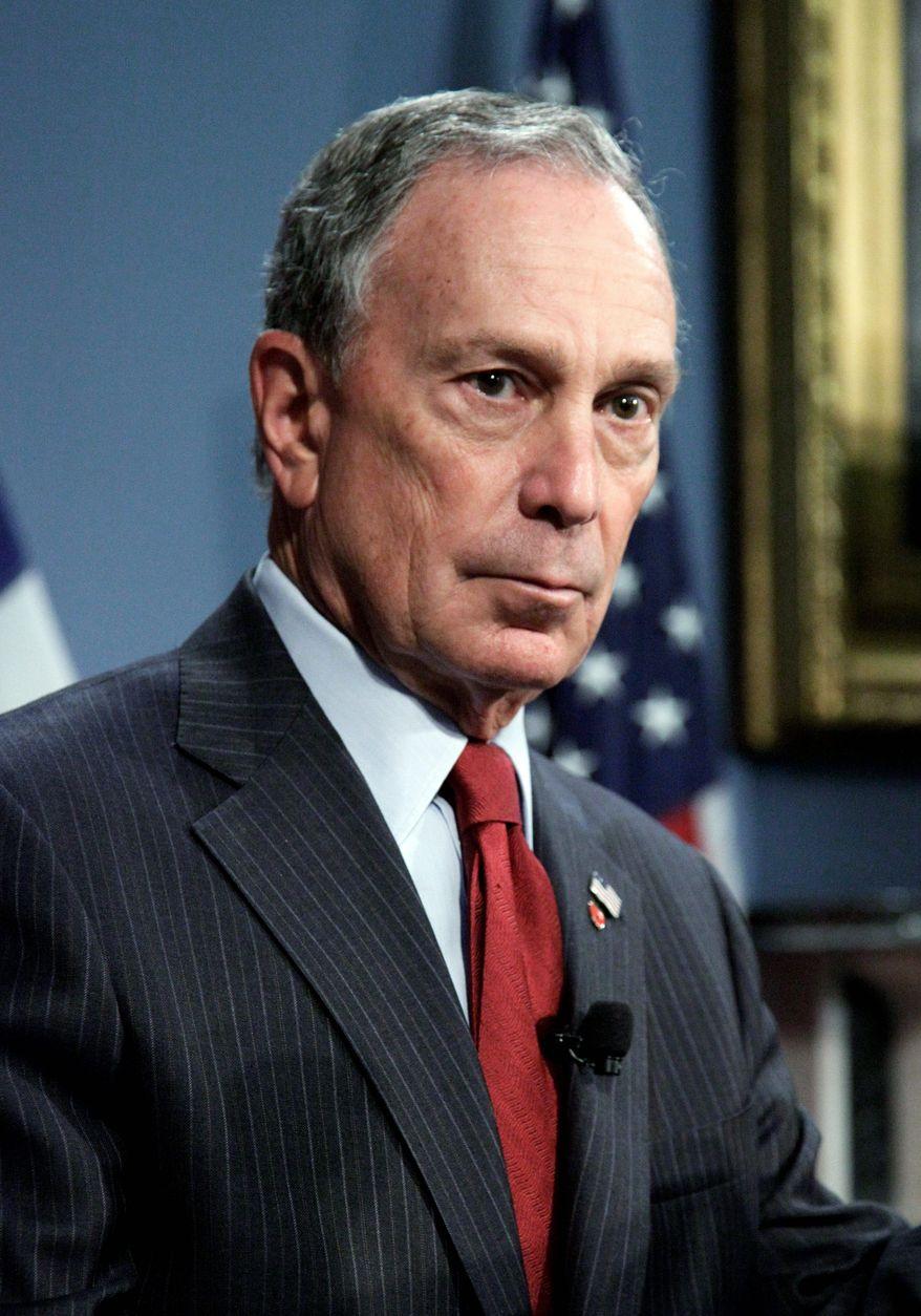 New York Mayor Michael R. Bloomberg (AP Photo)