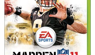 "ASSOCIATED PRESS In this publicity image released by EA Sports, the cover of the video game ""Madden NFL 11,"" is shown."