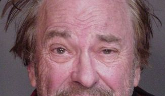 ** FILE ** Actor Rip Torn is shown in a New York State Police photo in Somers, N.Y., in December 2006 after his arrest for driving while intoxicated. (AP Photo/New York State Police, File)