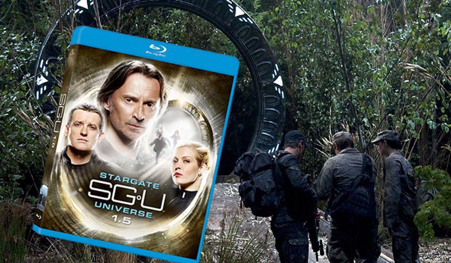 Stargate Universe: SGU 1.5 from Twentieth Century Fox Home Entertainment is now on Blu-ray.
