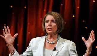 ** FILE ** Former House Speaker Nancy Pelosi, D-Calif., is shown in this June 24, 2010, file photo. (AP Photo/Louie Traub)