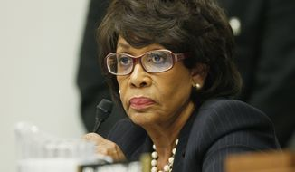 **FILE** Rep. Maxine Waters, California Democrat (Associated Press)