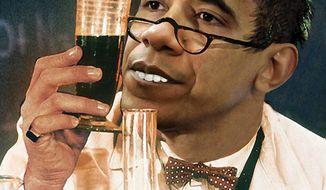 Illustration: Professor Obama
