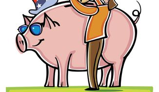 Illustration: Tax piggy bank