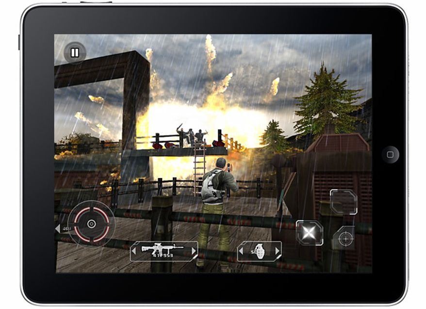 Tom Clancy's Splinter Cell Conviction HD  for the iPad from Gameloft