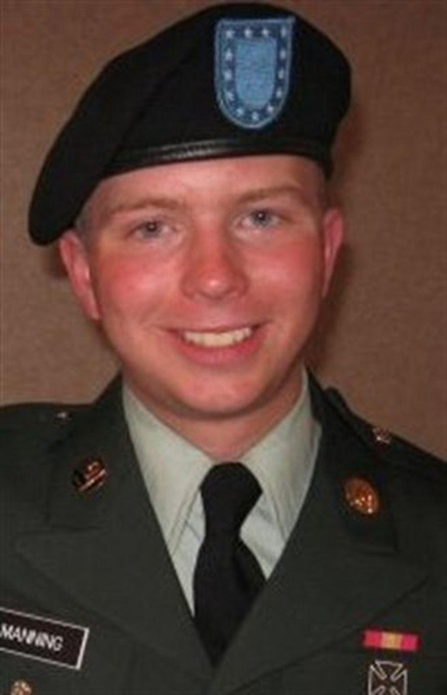 **FILE** U.S. Army Pfc. Bradley Manning (Associated Press)