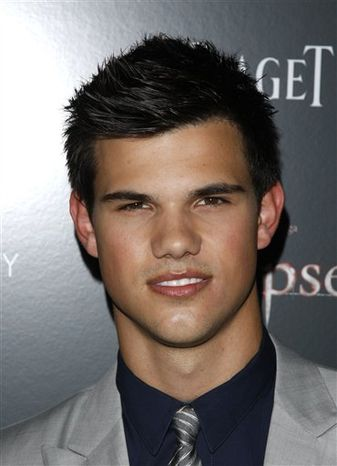 "FILE - In this June 28, 2010 photo,  Actor Taylor Lautner attends the Cinema Society premiere of ""The Twilight Saga: Eclipse"" in New York.   Lautner is suing an RV dealership he claims didn't deliver a customized ride in time for him to use it on his current movie shoot.  The star of the ""Twillight"" series sued the Irvine, Calif. dealership of McMahon's RV for more than $300,000 in Los Angeles on Monday, Aug. 23, 2010. The lawsuit claims McMahon's missed a deadline to deliver a customized 2006 Affinity Country Coach RV by June 21.  (AP Photo/Peter Kramer)"