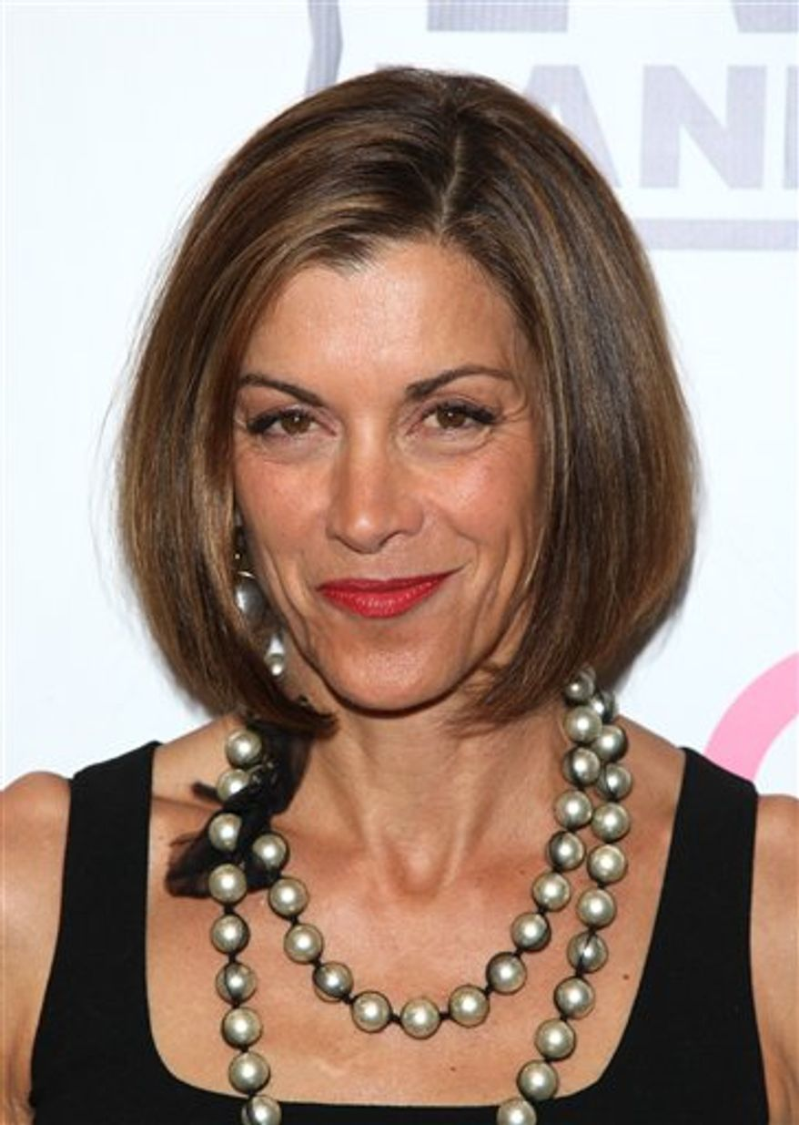 "FILE - In this June 14, 2010 file photo, actress Wendie Malick attends the TV Land screening of ""Hot in Cleveland"" in New York. (AP Photo/Peter Kramer, file)"