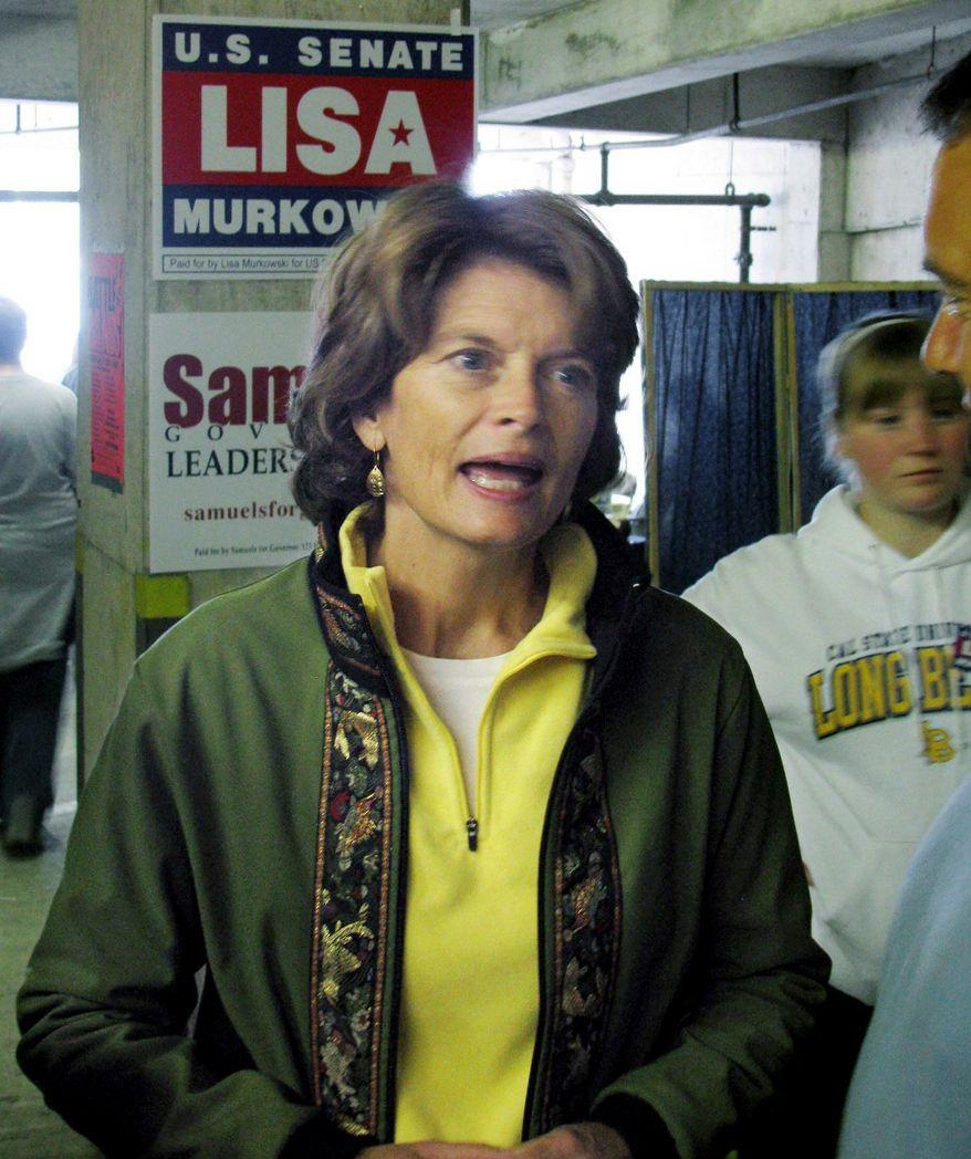Sen. Lisa Murkowski, Alaska Republican