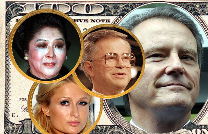 Imelda Marcos, Jim Bakker, Paris Hilton and Carl-Henric Svanberg say the darndest things. (Photos: Associated Press)