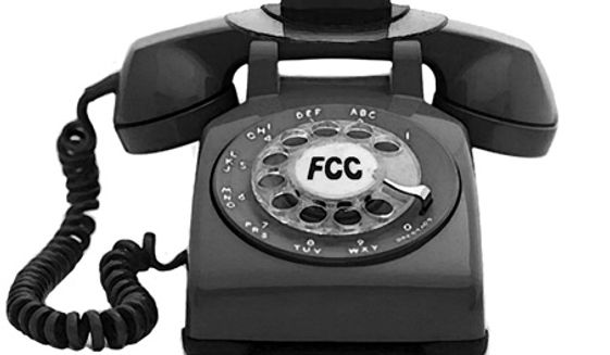 Illustration: FCC's broadband by Alexander Hunter for The Washington Times