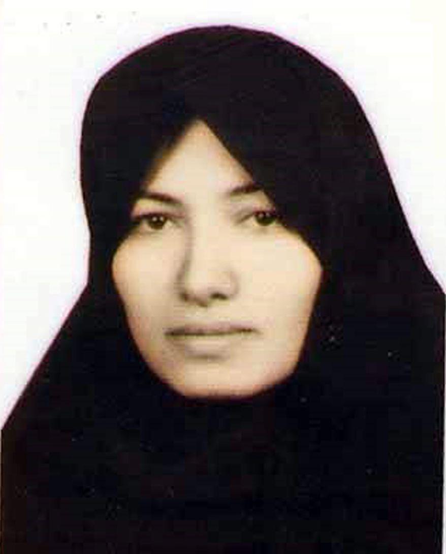 Sakineh Mohammadi Ashtiani (AP Photo/Amnesty International, ho)