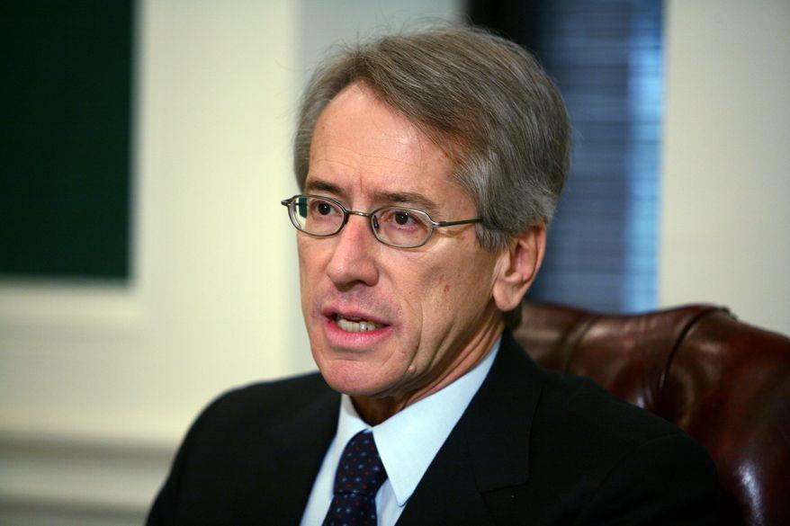 **FILE** Italian Ambassador Giulio Terzi di Sant'Agata (The Washington Times)