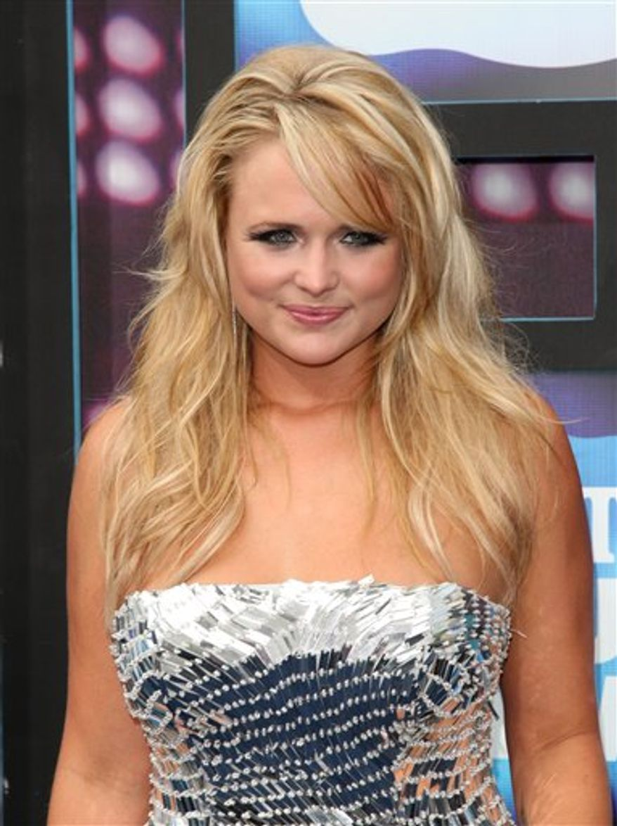 FILE - In this June 9, 2010 file photo, country singer Miranda Lambert attends the 2010 CMT Music Awards, in Nashville, Tenn. (AP Photo/Peter Kramer, file)