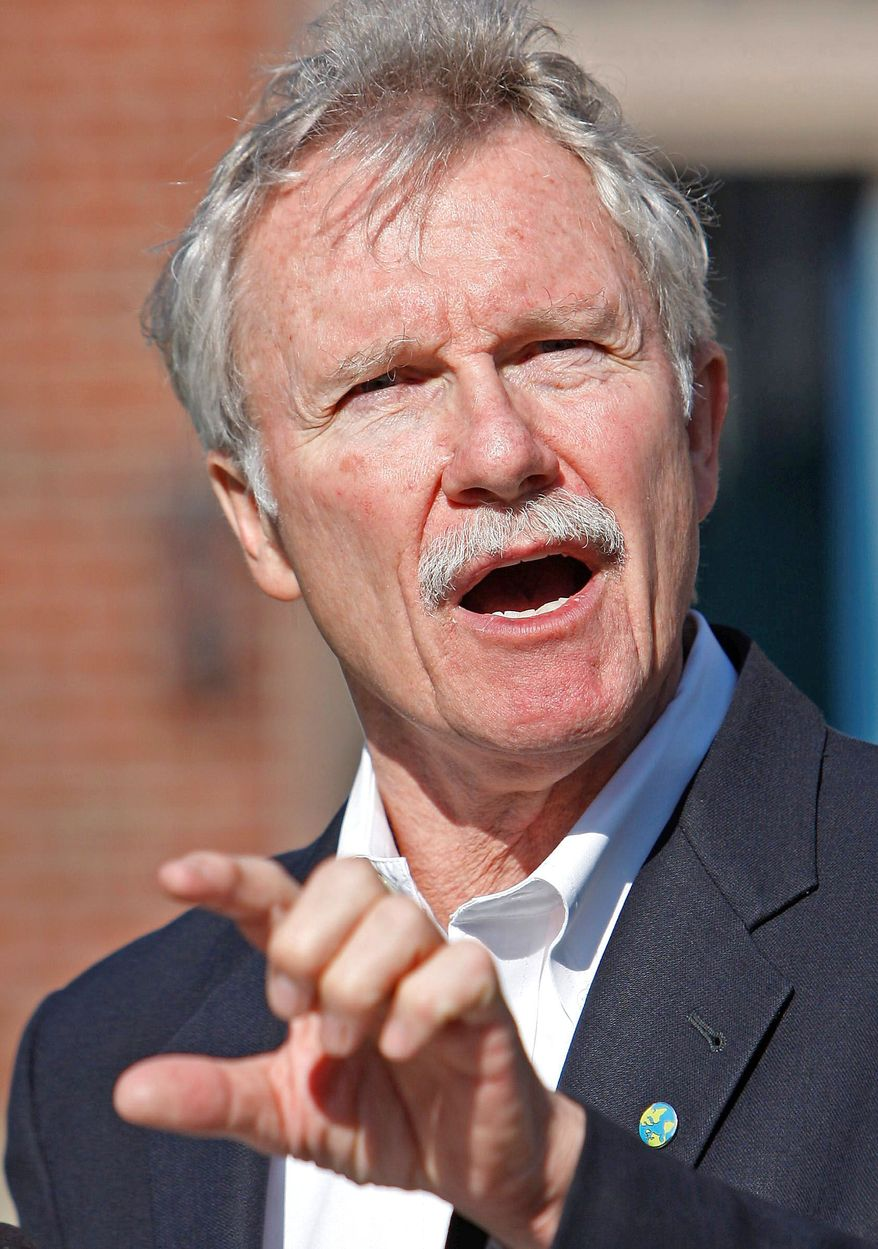 Oregon Democratic gubernatorial candidate John Kitzhaber wants a third term after leaving office eight years ago.