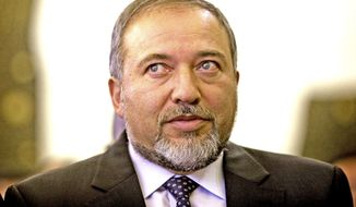 Israeli Foreign Minister Avigdor Lieberman (AP Photo)