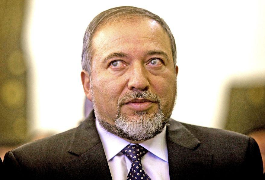 Israeli Foreign Minister Avigdor Lieberman (AP Photo)