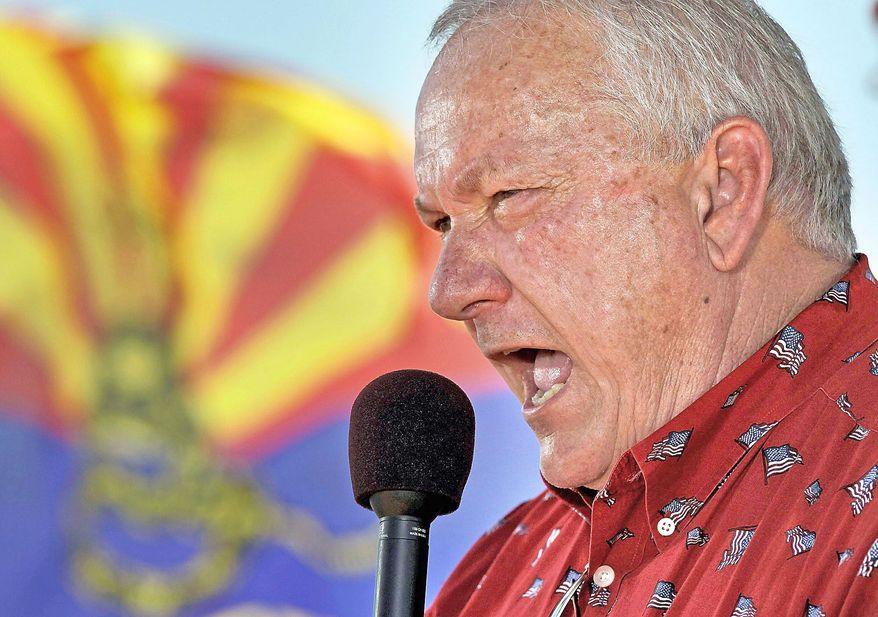 ASSOCIATED PRESS SHINING BRIGHT: Arizona state Sen. Russell Pearce, chief sponsor of Arizona's immigration legislation, has become a GOP kingmaker.