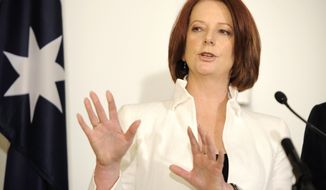Australian Prime Minister Julia Gillard (Associated Press)