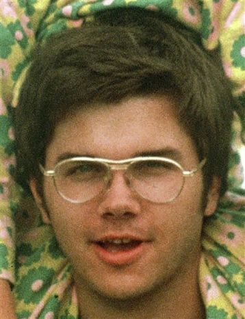 **FILE** In this  file photo, Mark David Chapman, who was convicted in 1981 of killing John Lennon, is seen here in 1975 at Fort Chaffee, Ark., near Fort Smith. (Associated Press)