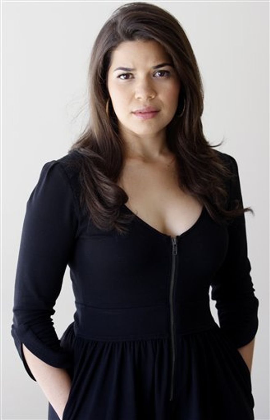 FILE - In this July 19, 2010 photo, actress America Ferrera poses for a photo in Los Angeles. (AP Photo/Damian Dovarganes, file)