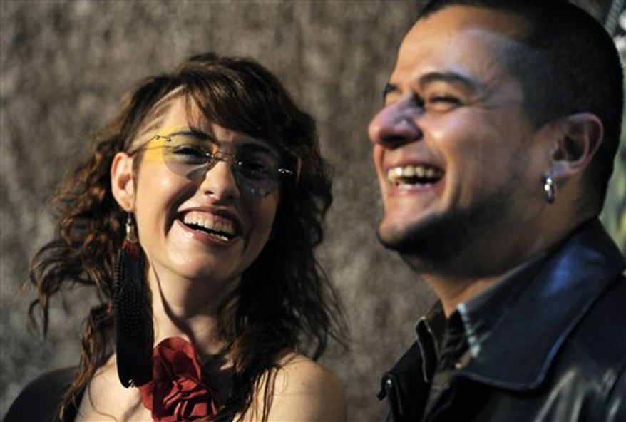 Mexican singer-songwriter Aleks Syntek poses after helping to announce nominations for the 11th Annual Latin Grammy Awards in Los Angeles, Wednesday, Sept. 8, 2010. The show will be held on Nov. 11 in Las Vegas. (AP Photo/Chris Pizzello)