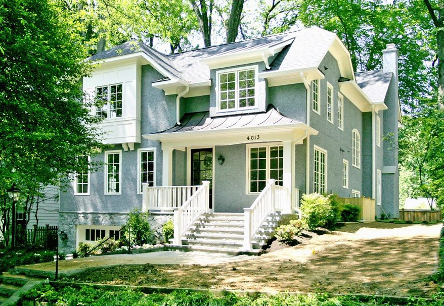 Chase Builders recently completed the home at 4013 Thornapple St. in Chevy Chase. On the market for $1,999,000, the three-level home has five bedrooms, four full baths and a powder room.