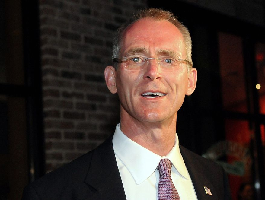 ASSOCIATED PRESS PHOTOGRAPH. In South Carolina, ousted incumbent Rep. Bob Inglis (shown) is not endorsing his victorious tea-party-backed challenger, Trey Gowdy.