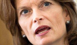 ASSOCIATED PRESS NO ENDORSEMENT:  Alaska Sen. Lisa Murkowski  has not offered her backing to Joe Miller.