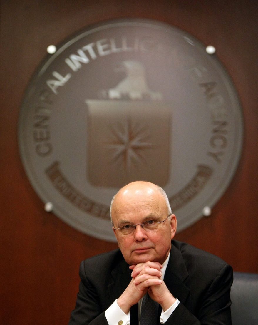 **FILE** Michael V. Hayden headed the CIA from 2006 to 2009.