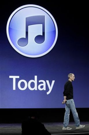 This screen shot shows Apple Inc.'s new music-discovery feature, Ping, a potentially useful addition to iTunes, letting you see what songs your friends are buying and where your favorite bands are playing next. (AP Photo/Apple Inc.) NO SALES