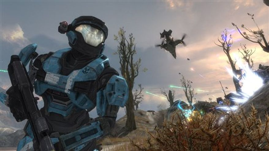 "This video game image released by Bungie Studios shows a scene from ""Halo Reach."" (AP Photo/Bungie Studios) NO SALES"