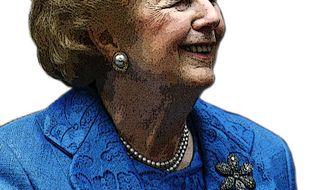 Illustration: Margaret Thatcher