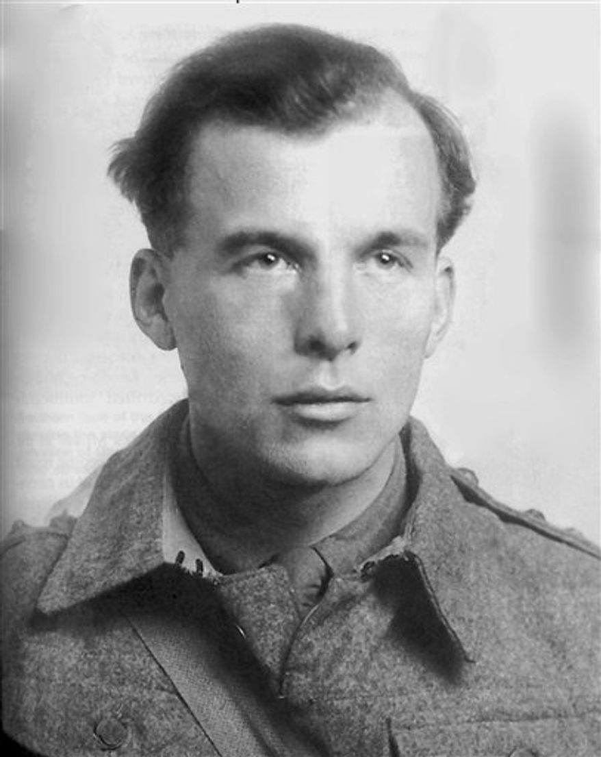 This is an undated image of  Micky Burn made available Monday Sept. 13, 2010 by family friend James Dorrian.  Burn, a British journalist, novelist and World War II commando who flirted with fascism, embraced communism and helped save the life of Audrey Hepburn, has died at the age of 97.  Burn died Sept. 3 at his home near Porthmadog in north Wales after suffering a stroke, his friend James Dorrian said Monday Sept. 13, 2010. (AP Photo/James Dorrian. Ho)