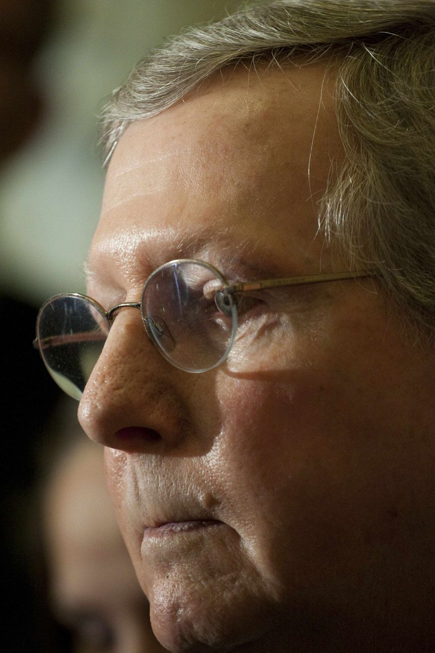 Senate Minority Leader Mitch McConnell, Kentucky Republican