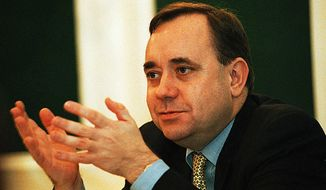 **FILE** Alex Salmond, the first minister of Scotland (The Washington Times)