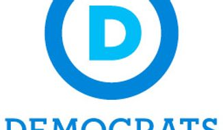 The new logo for the Democratic Party